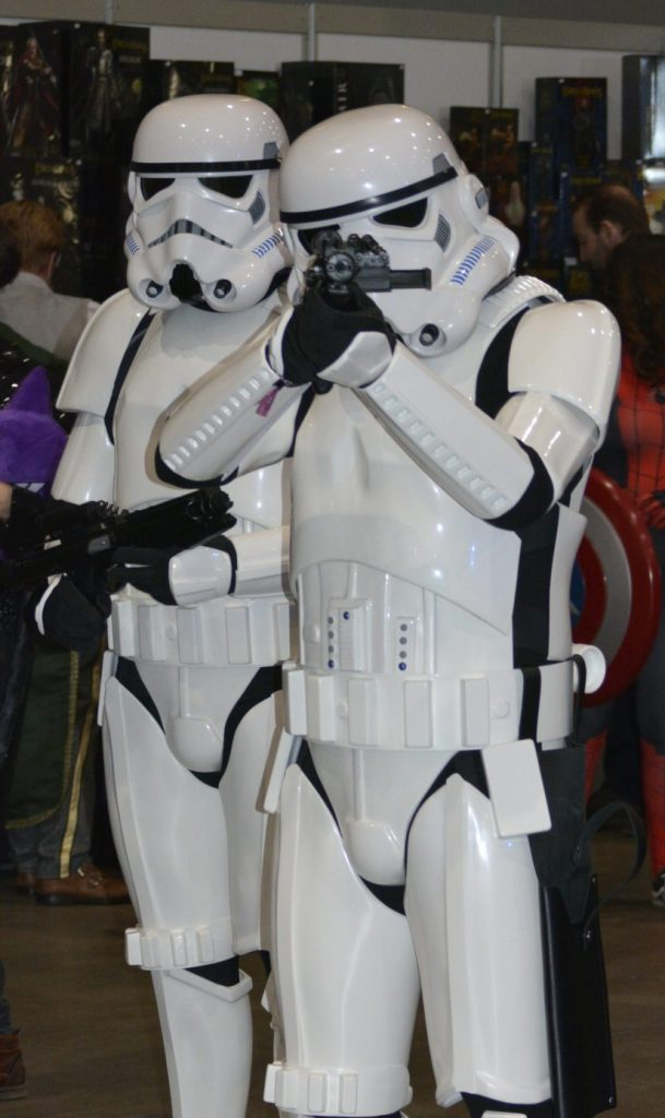 Comic-con stormtroopers