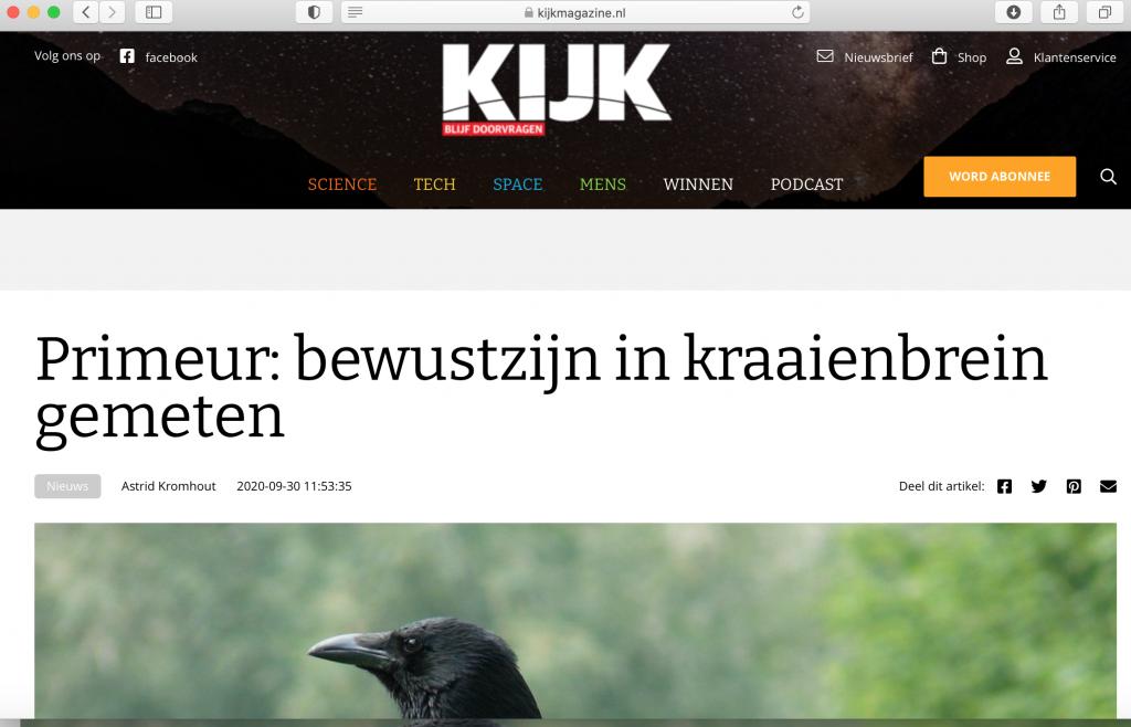 KIJK Magazine website