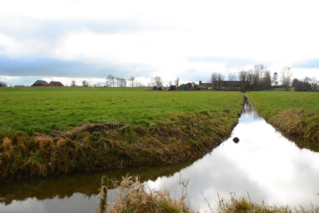 Herenboerderij Leimuiden blik richting de stal